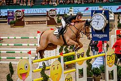EHNING Marcus (GER), Pret a Tout<br /> Leipzig - Partner Pferd 2020<br /> Longines FEI Jumping World Cup™Qualifikations-Prüfung<br /> Springprfg. nach Fehlern und Zeit, international<br /> 17. Januar 2020<br /> © www.sportfotos-lafrentz.de/Stefan Lafrentz
