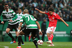 February 3, 2019 - Lisbon, Portugal - Benfica's Portuguese forward Joao Felix in action during the Portuguese League football match Sporting CP vs SL Benfica at Alvalade stadium in Lisbon, Portugal on February 3, 2019. (Credit Image: © Pedro Fiuza/ZUMA Wire)