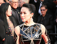 Zhang Ziyi at the the Grace of Monaco gala screening and opening ceremony red carpet at the 67th Cannes Film Festival France. Wednesday 14th May 2014 in Cannes Film Festival, France.