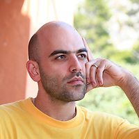 Roberto Saviano<br /> <br /> copyright Steve Bisgrove/Writer PIctures<br /> contact +44 (0)20 822 41564<br /> info@writerpictures.com <br /> www.writerpictures.com