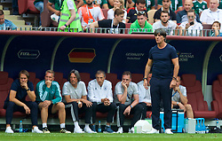 MOSCOW, RUSSIA - Sunday, June 17, 2018: Germany's head coach Joachim Low during the FIFA World Cup Russia 2018 Group F match between Germany and Mexico at the Luzhniki Stadium. (Pic by David Rawcliffe/Propaganda)