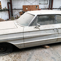 A 1964 Ford Galaxy 500 XL two-door hardtop was recovered by the Cibola County Sheriff's Office.