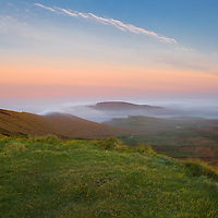 Misty Sunrise at Valentia Island, Ring of Kerry, County Kerry, Ireland /vl126