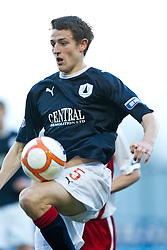 Murray Wallace..Falkirk 1 v 1 Ross County, 26/12/2011..Pic © Michael Schofield..