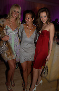 Kimberley Stewart, Jade Jagger and Camilla Al Fayad. An evening in aid of cancer charity Clic Sargent held at the Sanderson Hotel, Berners Street, London on 4th July 2005ONE TIME USE ONLY - DO NOT ARCHIVE  © Copyright Photograph by Dafydd Jones 66 Stockwell Park Rd. London SW9 0DA Tel 020 7733 0108 www.dafjones.com