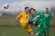 Hilltown Hotspurs (green) v Charlie's Accies (yellow) in the Dundee Saturday Morning Football League at Riverside, Dundee, <br /> <br />  - © David Young - www.davidyoungphoto.co.uk - email: davidyoungphoto@gmail.com