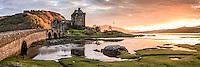 Eilean Donan Castle, Dornie, Kyle of Lochalsh, Schottland