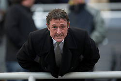 NEWCASTLE, ENGLAND - Saturday, March 5, 2011: Everton's Chief-Executive Robert Elstone during the Premiership match against Newcastle United at St. James' Park. (Photo by David Rawcliffe/Propaganda)