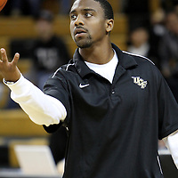 Jeff Jordan during pre-game against Louisiana at the UCF Arena on December 15, 2010 in Orlando, Florida. UCF won the game79-58. (AP Photo/Alex Menendez)