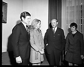 1970 - 04/03 Edward Kennedy visits Taoiseach, Jack Lynch