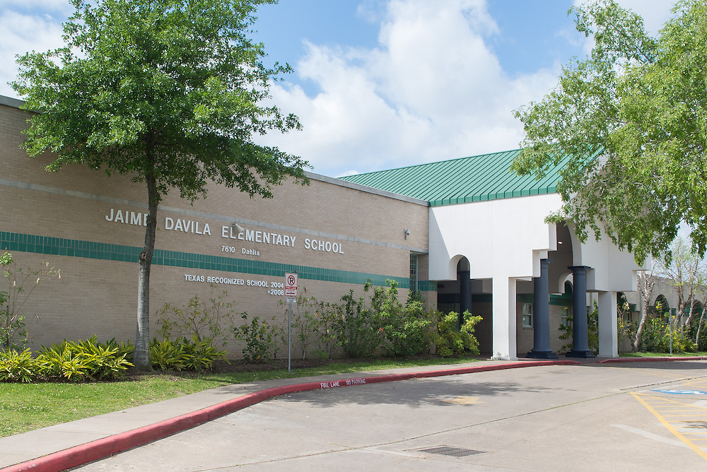 Jamie Davila Elementary School photographed April 7, 2013. The school was a recipient of funds from the 2007 Bond.