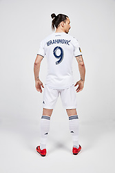 Handout pictures - Official pictures of Zlatan Ibrahimovic joining LA Galaxy football team in 2018 after playing with Manchester United. Photo by Jon Shard/LA Galaxy/ABACAPRESS.COM