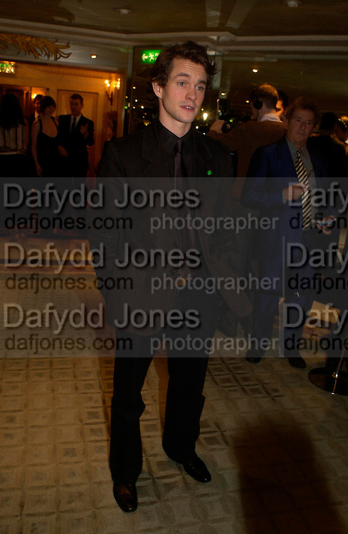 Hugh Dancy . 25th  annual Awards of the London critic's Circle in aid of the NSPCC. The Dorchester. Park Lane. London. 9 February 2005. ONE TIME USE ONLY - DO NOT ARCHIVE  © Copyright Photograph by Dafydd Jones 66 Stockwell Park Rd. London SW9 0DA Tel 020 7733 0108 www.dafjones.com