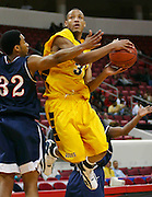 at the 2006 MEAC Basketball Tournament held at the RBC Center in Raleigh, North Carolina.  (Photo by Mark W. Sutton)