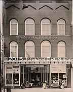 Main Oak Building<br /> 4x5 tintype on aluminum.