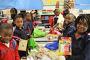 """Volunteer Houston's """"Saint Nicholas Day"""" at Bruce Elementary School.<br /> To submit photos for inclusion in eNews, send them to hisdphotos@yahoo.com."""