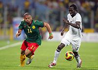 Fotball<br /> Foto: DPPI/Digitalsport<br /> NORWAY ONLY<br /> <br /> FOOTBALL - AFRICAN CUP OF NATIONS 2008 - 1/2 FINAL - 7/02/2008 - GHANA v CAMEROON - JOEL EPALLE (CAM) / HANS ADU SARPEI (GHA) <br /> <br /> Afrika mesterskapet<br /> Ghana v Kamerun