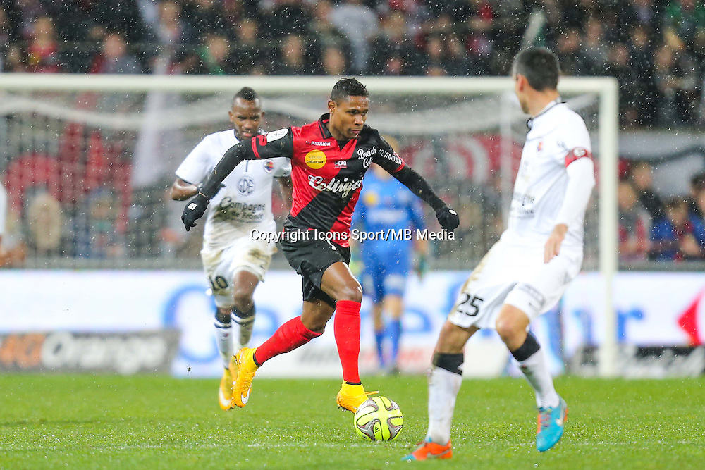 Christophe MANDANNE  - 03.12.2014 - Guingamp / Caen - 16eme journee de Ligue 1 <br /> Photo : Vincent Michel / Icon Sport