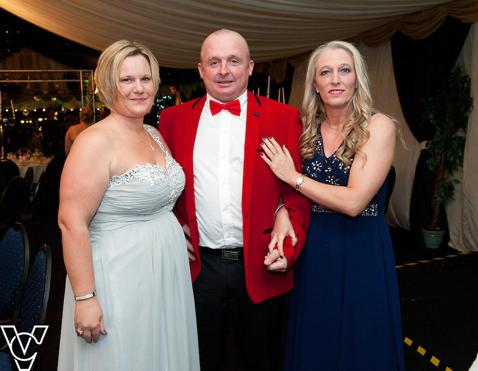Lincoln Journal society pictures: Pictured, from left, Lorraine Dixon, Gary Dixon and Gail Hebden<br /> <br /> An annual ball, this year themed the Bauble Ball, has taken place at Jocastas, to raise money for the Lincoln St Christopher's School.<br /> <br /> Date: November 28, 2015<br /> Picture: Chris Vaughan/Chris Vaughan Photography