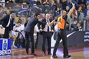 DESCRIZIONE : Campionato 2013/14 Acea Virtus Roma - Umana Reyer Venezia<br /> GIOCATORE : Luca Dalmonte Lorenzo Baldini<br /> CATEGORIA : Arbitro Referee Mani Curiosità<br /> SQUADRA : Acea Virtus Roma<br /> EVENTO : LegaBasket Serie A Beko 2013/2014<br /> GARA : Acea Virtus Roma - Umana Reyer Venezia<br /> DATA : 05/01/2014<br /> SPORT : Pallacanestro <br /> AUTORE : Agenzia Ciamillo-Castoria / GiulioCiamillo<br /> Galleria : LegaBasket Serie A Beko 2013/2014<br /> Fotonotizia : Campionato 2013/14 Acea Virtus Roma - Umana Reyer Venezia<br /> Predefinita :