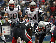 Tedy Bruschi, Mike Vrabel, New England Patriots @ Buffalo Bills, 11 Dec 05, 1pm, Ralph Wilson Stadium, Orchard Park, NY