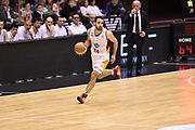 DESCRIZIONE : Milano Lega A 2014-15 <br /> EA7 Olimpia Milano - Acea Virtus Roma <br /> GIOCATORE : Rok Stipcevic<br /> CATEGORIA : palleggio contropiede controcampo<br /> SQUADRA : Acea Virtus Roma <br /> EVENTO : Campionato Lega A 2014-2015 <br /> GARA : EA7 Olimpia Milano - Acea Virtus Roma<br /> DATA : 12/04/2015<br /> SPORT : Pallacanestro <br /> AUTORE : Agenzia Ciamillo-Castoria/GiulioCiamillo<br /> Galleria : Lega Basket A 2014-2015  <br /> Fotonotizia : Milano Lega A 2014-15 EA7 Olimpia Milano - Acea Virtus Roma