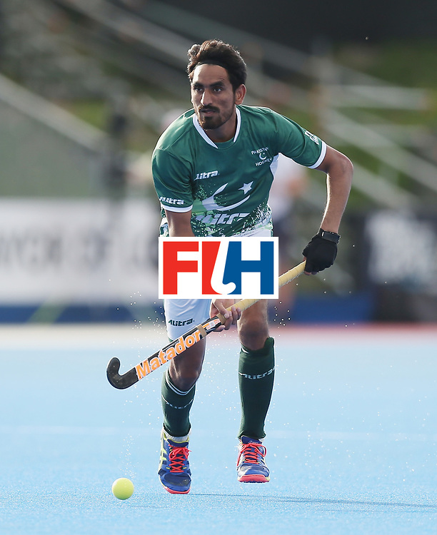 LONDON, ENGLAND - JUNE 16:  Tasawar Abbas of Pakistan during the Hero Hockey World League semi final match between Pakistan and Canada at Lee Valley Hockey and Tennis Centre on June 16, 2017 in London, England.  (Photo by Alex Morton/Getty Images)