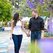 Dina and Alex Engagement Session Balboa Park 2016