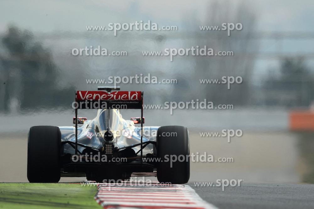 27.02.2015, Circuit de Catalunya, Barcelona, ESP, FIA, Formel 1, Testfahrten, Barcelona, Tag 2, im Bild Pastor Maldonado (VEN) Lotus E23 Hybrid // during the Formula One Testdrives, day two at the Circuit de Catalunya in Barcelona, Spain on 2015/02/27. EXPA Pictures &copy; 2015, PhotoCredit: EXPA/ Sutton Images/ Patrik Lundin Images<br /> <br /> *****ATTENTION - for AUT, SLO, CRO, SRB, BIH, MAZ only*****