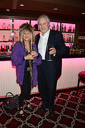 NICK ALLOTT and ELIZABETH EMANUEL at a party to celebrate the publication of 'Passion for Life' by Joan Collins held at No41 The Westbury Hotel, Mayfair, London on21st October 2013.