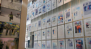 © Licensed to London News Pictures. 02/01/2013. Washington DC, USA .  Front pages and photographs reporting the terrorist attacks on the USA on September 11 2001 on display at the 'Newseum' in Washington DC.  Photo credit : Stephen Simpson/LNP