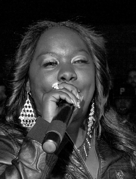 New Orleans Bounce artist Magnolia @ Submerged during SXSW 2010
