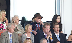 BLACKPOOL, ENGLAND - Sunday, April 10, 2011: Blackpool's owner Owen Oysten during the Premiership match at Bloomfield Road. (Photo by David Rawcliffe/Propaganda)
