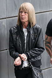 © Licensed to London News Pictures . 01/06/2015 . Manchester UK . DOROTHY BEGLEY ( aka Dot Begley ) , at the inquest of her son Jordan Begley , who died following an incident in which he was tasered by police outside his home on Beard Road in Gorton , Greater Manchester , on 11th July 2013  . The inquest is taking place today ( 1st June 2015 ) at Manchester Civil Justice Centre . Photo credit : Joel Goodman/LNP