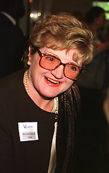 Actress JULIA McKENZIE at a luncheon in London on 11th October 1999.<br /> MXJ 38
