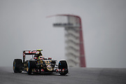 October 23-25, 2015: United States GP 2015: Pastor Maldonado, (VEN), Lotus