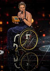 21-12-2016 NED: Sportgala NOC * NSF 2016, Amsterdam<br /> In de Amsterdamse RAI vindt het traditionele NOC NSF Sportgala weer plaats /Fanny Blankers-Koen carriere prijs voor Esther Vergeer (rolstoeltennis)