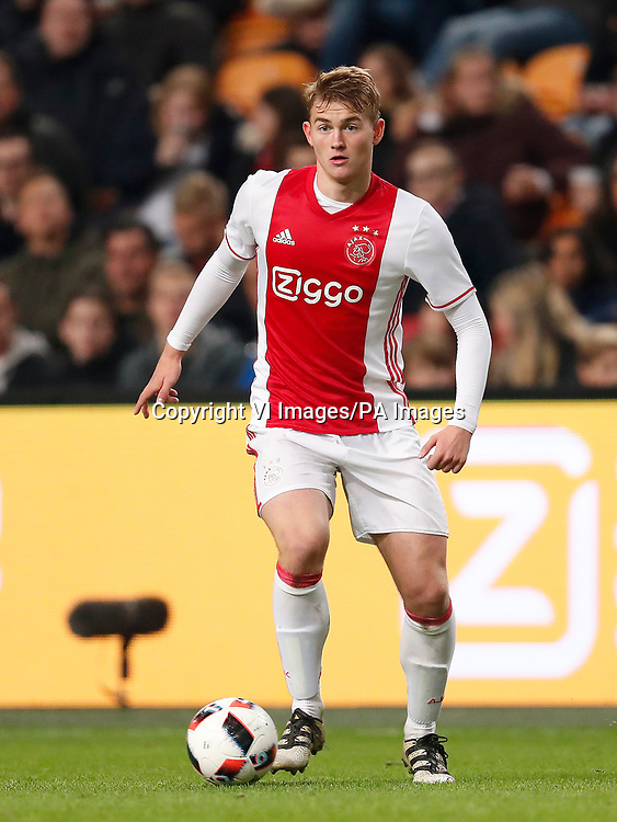 Carel Eiting of Jong Ajax during the Dutch Jupiler match between Jong Ajax Amsterdam and NAC Breda at the Amsterdam Arena on November 04, 2016 in Amsterdam, The Netherlands