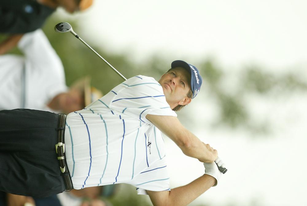 Retief Goosen.2003 Tour Championship.Final Round.Champions Golf Club.Houston, TX.November 9, 2003..photograph by Darren Carroll