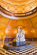 Statue in the rotunda at the California State Capitol building, Sacramento, California