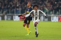 05.02.2017 - Torino - Serie A 2016/17 - 23a giornata  -  Juventus-Inter nella  foto: Juan Cuadrado esulta dopo il gol