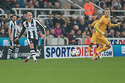 Jonjo Shelvey (Newcastle United) during the EFL Cup 4th round match between Newcastle United and Preston North End at St. James's Park, Newcastle, England on 25 October 2016. Photo by Mark P Doherty.