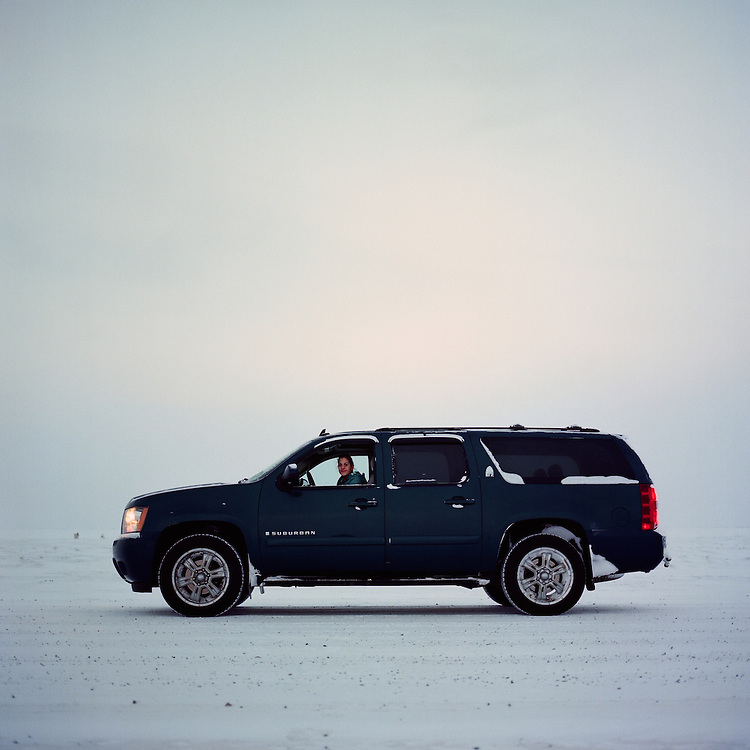 &ldquo;I graduated in May. I have been helping my dad do tourism for a year and a half now I think. He got me this truck in December for a graduation present. I do tours. I like to watch the bears&mdash;I like it, and I am going to get my six pack soon. After I go to the Tribal College in Barrow [Alaska], I am going to come back and work again with my dad, and hopefully after I am done working I am going to go for my six pack (a six-pack captain license).<br />