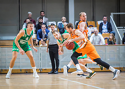 5# Zoran Dragic of Ratiopharm Ulm during the friendly match between KK Cedevita Olimpija Ljubljana and Ratiopharm Ulm on 11.9.2019 in Hala Tivoli, Ljubljana, Slovenia. Photo by Urban Meglič / Sportida