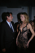 Bryan Ferry and  Eva Herzigova. GQ Men Of The Year Awards at the Royal Opera House, London. September 6, 2005 in London, England, ONE TIME USE ONLY - DO NOT ARCHIVE  © Copyright Photograph by Dafydd Jones 66 Stockwell Park Rd. London SW9 0DA Tel 020 7733 0108 www.dafjones.com