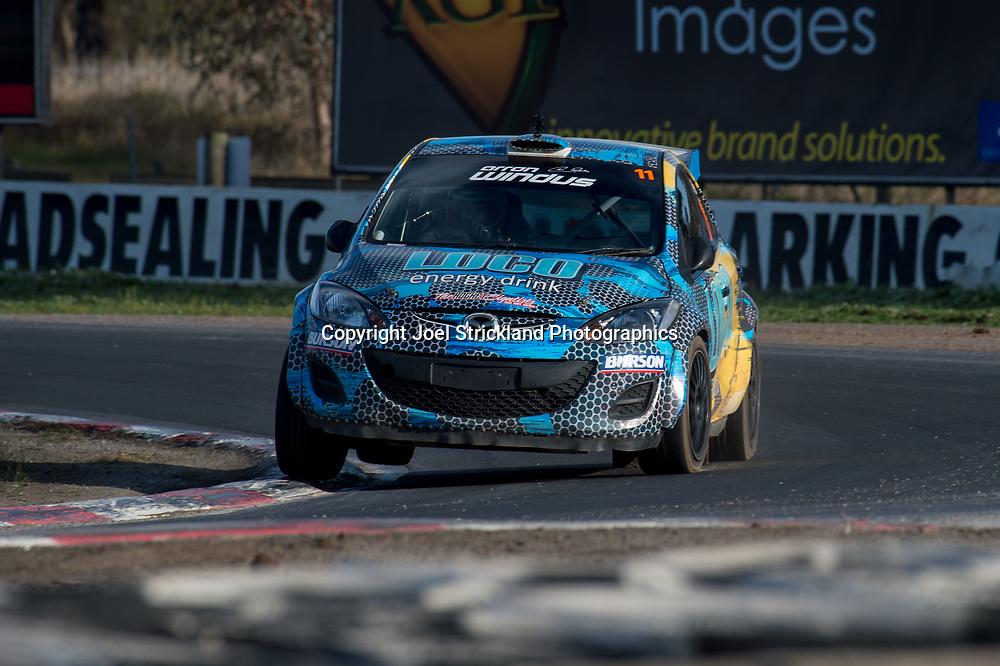 Arron Windus - Mazda 2 - Rallycross Australia - Winton Raceway - 16th July 2017