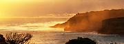 Port Campbell    Sunset cliff scene
