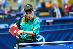 LYTOVCHENKO Maryna of Ukraine during SPINT 2018 Table Tennis world championship for the Disabled, Day Two, on October 18th, 2018, in Dvorana Zlatorog, Celje, Slovenia. . Photo by Grega Valancic / Sportida
