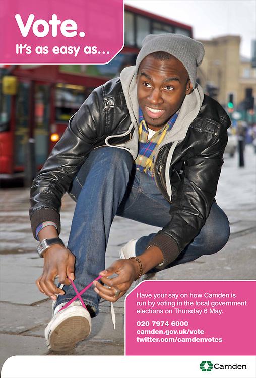 Election Campaign, London Borough of Camden