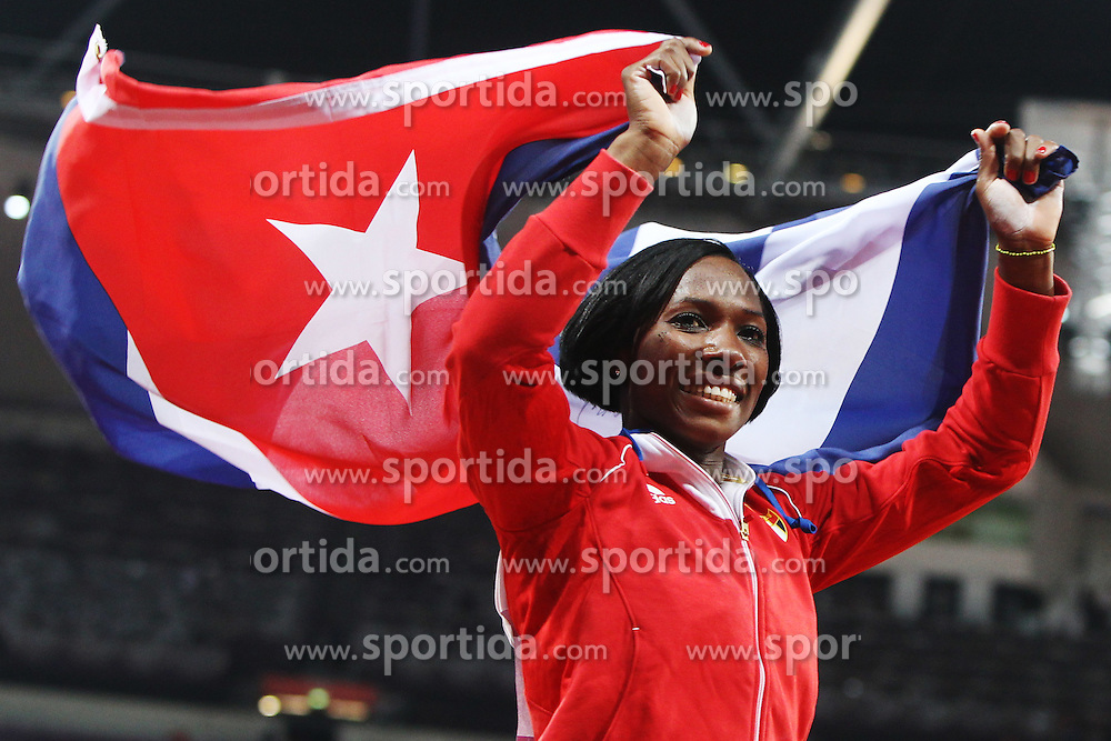 Olympics - London 2012 Olympic Games - 6/8/12.Athletics - Women's Pole Vault Final - Cuba's Yarisley Silva .© pixathlon
